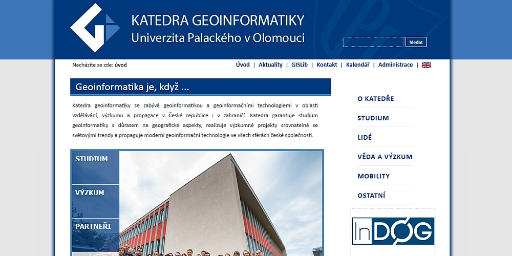 Dept. of Geoinformatics